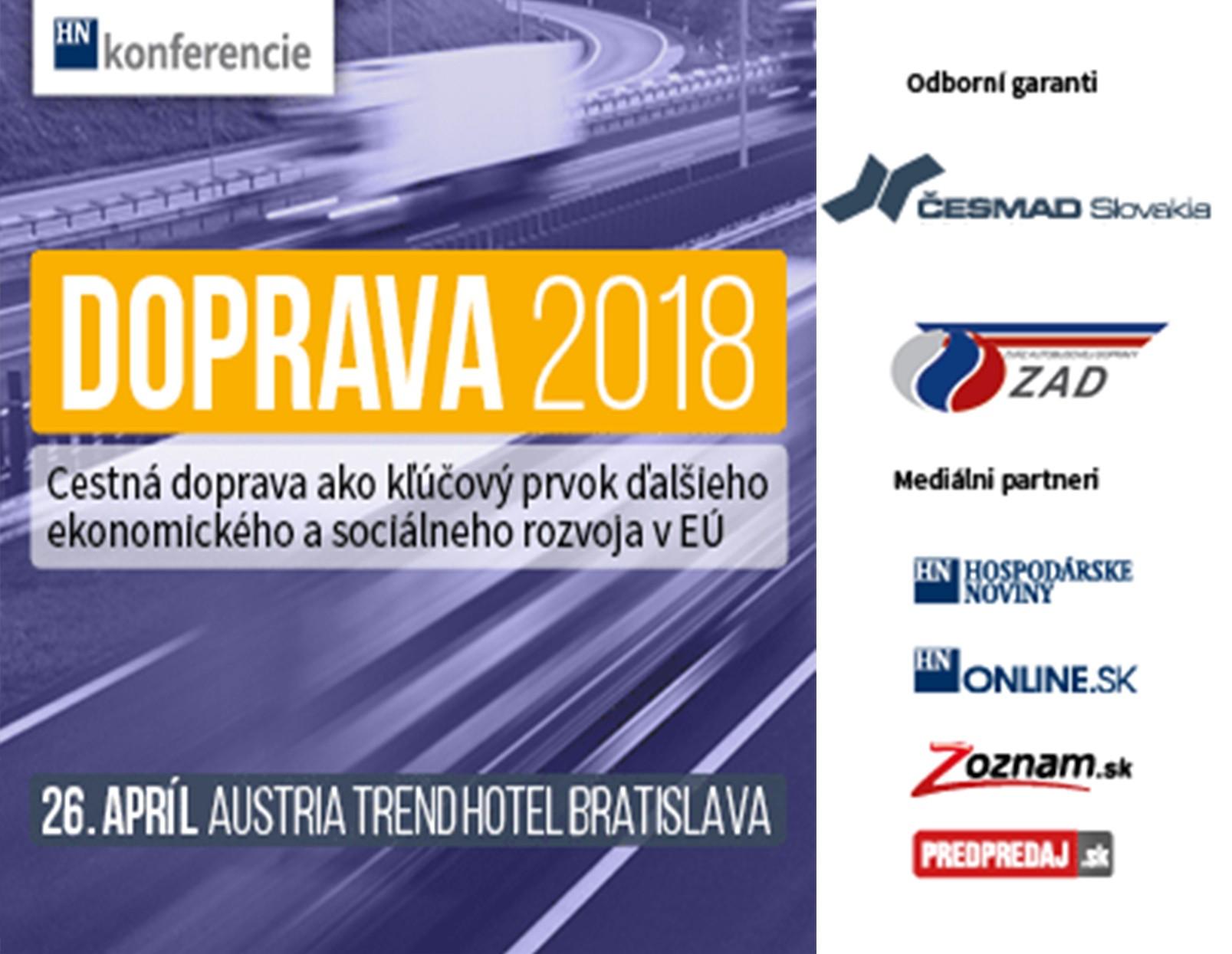 Konferencia DOPRAVA 2018