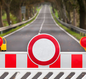 Dočasné zákazy jázd v Belgicku
